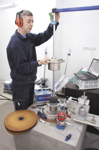 Instituto TERRATEST de reparación, calibración y servicio