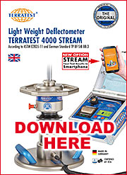 Deflectómetro de impacto dinámico portátil PDF-Flyer download