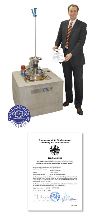 calibration-deflectrometro-dinamico-portatil-terratest